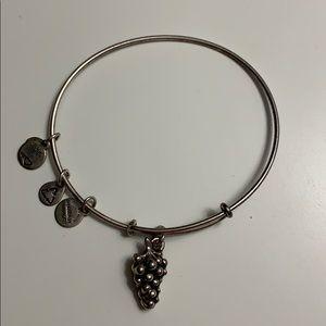 Authentic Alex and Ani grapes bracelet.